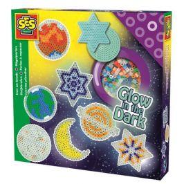SES Zažehlovací korálky - svítící hvězdy