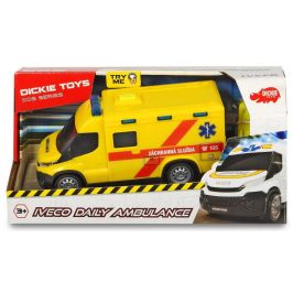 Dickie Ambulance Iveco, česká verze, 18 cm