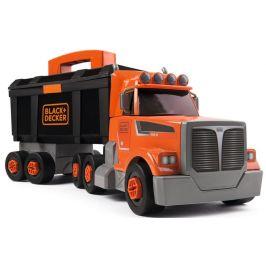 Smoby Kamion s pracovním kufříkem Black&Decker - rozbaleno