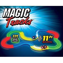Wiky Fajn Magic Tracks svítící autodráha 220 dílů - rozbaleno