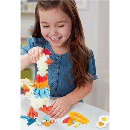 Play-Doh Kvokající kuře s peřím - rozbaleno