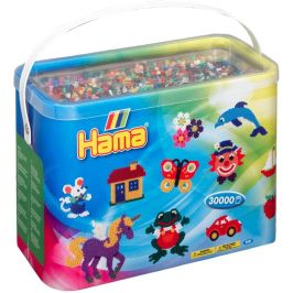 Hama korálky Midi v boxu Mix 30.000 ks