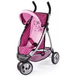 Bayer Design Jogger kočárek pro panenky svět růžová - II. jakost