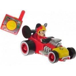 Mikro hračky Mickey Mouse R/C závodní formule, 13cm