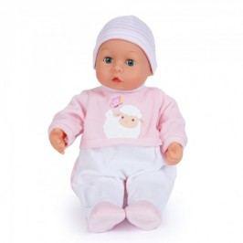 Bayer Design Mluvící miminko v pudrovém oblečku