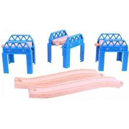 Bigjigs Rail Set mostní konstrukce