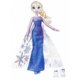 Disney Princezna Elsa s třpytivými šaty a kamarádem