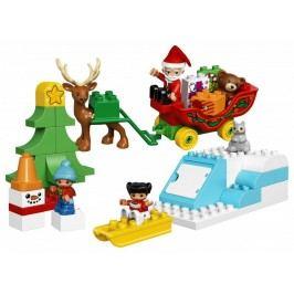 LEGO® DUPLO 10837 Santovy Vánoce
