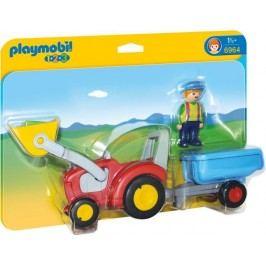 Playmobil 6964 Traktor s přívěsem