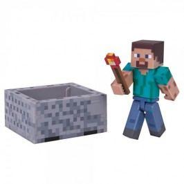 TM Toys Minecraft - Steve Minecraft sběratelská figurkas doplňky