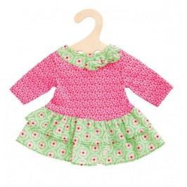 Heless Šaty s kanýrkem zeleno/růžové