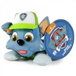 Spin Master Paw Patrol Plyšová postavička Rocky 10 cm modrá