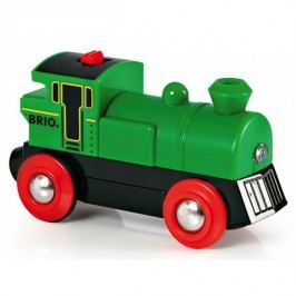 Brio Elektronická lokomotiva zelená