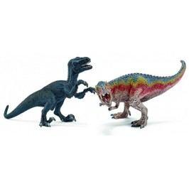 Schleich T-Rex a Velociraptor 42216