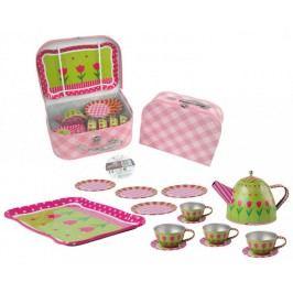 Mac Toys Čajová sada - růžovo/zelená