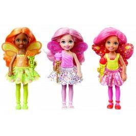 Mattel Barbie Víla Chelsea oranžové vlasy