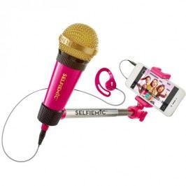 ADC Blackfire Selfie mikrofon růžový