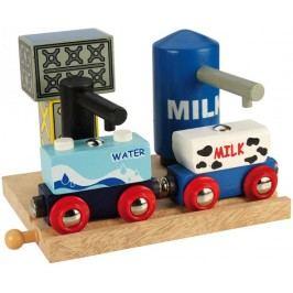 Bigjigs Rail Skladiště mléka a vody