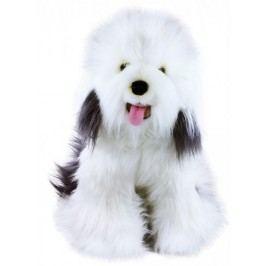 Rappa Plyšový pes ovčácký Bobtail, 30 cm