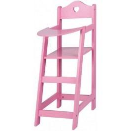 Eddy Toys Vysoká židlička pro panenky, dřevěná
