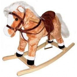 Teddies Plyšový houpací kůň 60cm