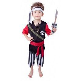 Rappa Kostým pirát s šátkem M