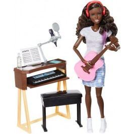 Mattel Barbie Muzikantka brunetka