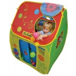 K´s Kids Dětský stan s plastovými míčky