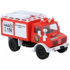 Monti Systém Stavebnice 16 Mercedes Unimog hasiči ČR 1:48