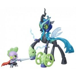 My Little Pony Guardians of harmony Chrysalis vs Spike