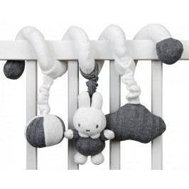 Tiamo Plyšová spirála Miffy Grey