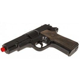 Gonher Policejní pistole černá kovová 8 ran
