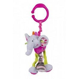 BabyOno Vibrující slon s klipem