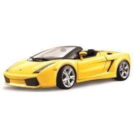 BBurago 1:18 Lamborghini Gallardo Spyder žlutá