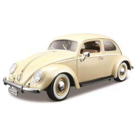 BBurago 1:18 Volkswagen Beetle 1955 krémová
