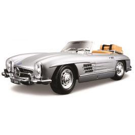 BBurago 1:18 Mercedes Benz 300 SL Touring (1957) stříbrná
