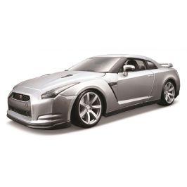 BBurago 1:18 2009 Nissan GT-R stříbrná