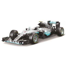 BBurago 1:18 Race F1 Mercedes AMG Petronas W07 hybrid 2016 (44 Lewis Hamilton)