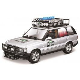 BBurago 1:24 Range Rover stříbrná
