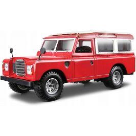 BBurago 1:24 Land Rover červená