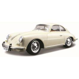 BBurago 1:24 Porsche 356B Coupe (1961) krémová