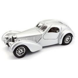 BBurago 1:24 Bugatti Atlantic stříbrná
