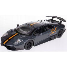 BBurago 1:24 Lamborghini Murciélago LP 670-4 SV šedá