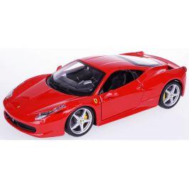 BBurago 1:24 Ferrari 458 Italia červená