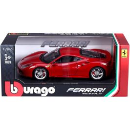 BBurago 1:24 Ferrari 488 GTB červená