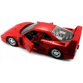 BBurago 1:24 Ferrari F40 červená
