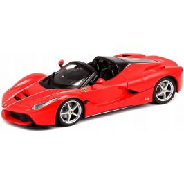 BBurago 1:24 Ferrari La Ferrari Aperta červená