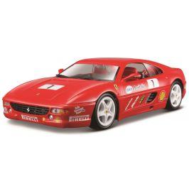 BBurago 1:24 Ferrari Racing F355 Challenge červená
