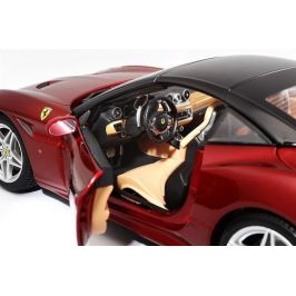 BBurago 1:18 Ferrari Signature series California (Closed Top) červená