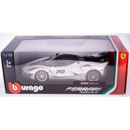 BBurago 1:18 Ferrari TOP FXX-K EVO No.70 bílá/černá
